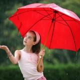 ombrello rosso