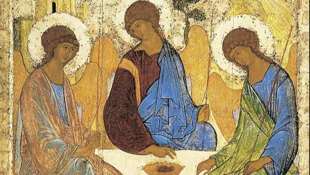 Risultati immagini per icona della trinità